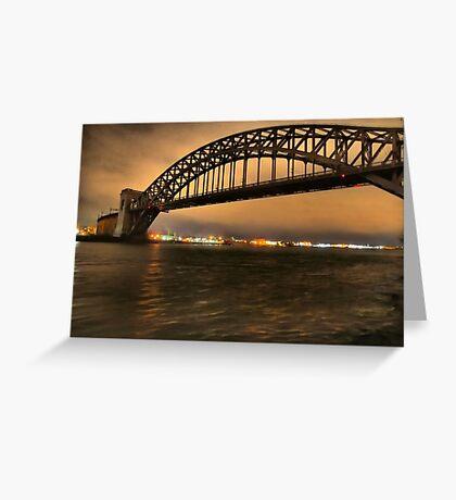 The Hellgate Bridge Greeting Card