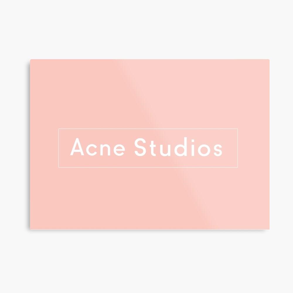 Akne-Studios Metallbild