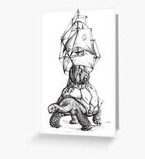 Tortoise Travel Greeting Card