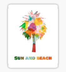 Palm. Sticker