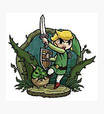 Zelda Attack... Photographic Print