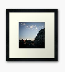 'Affordable' Housing Framed Print