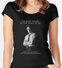 Hamilton x The West Wing - Aaron (Sorkin), Sir Women's Fitted Scoop T-Shirt
