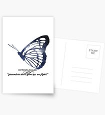 The 100's Octavia Blake Graphic Postcards