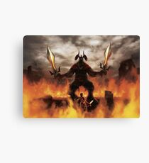 Last Battle  Canvas Print
