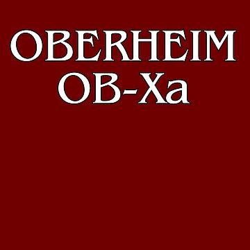 Vintage Oberheim OB-Xa  Synth by felinson