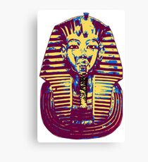 5- Colored King Tut Mask Canvas Print