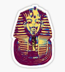 5- Colored King Tut Mask Sticker