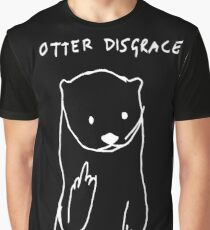 Otter disgrace Graphic T-Shirt