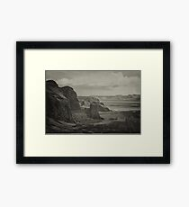 Road to paradise Framed Print