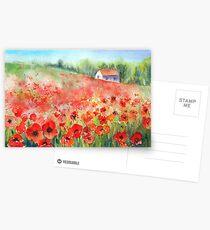 Scarlet Carpet Postcards