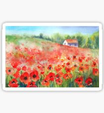 Scarlet Carpet Sticker