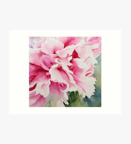 Perfect Pink Peony Art Print