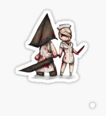 Silent Plushie Hill Sticker