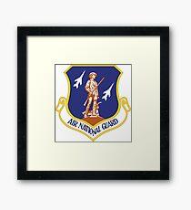 Emblem der Luft-Nationalgarde Vereinigter Staaten Gerahmtes Wandbild