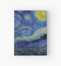 Lego - starry night Hardcover Journal