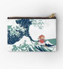 Ponyo and The Great Wave off Kanagawa - Moderne Studio Pouch