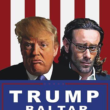 Trump - Baltar : Make America Hate Again! by MauricioC