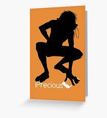 Gollum Precious Silhouette  Iphone T-shirt Greeting Card