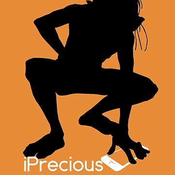 Gollum Precious Silhouette  Iphone T-shirt by theshirtnerd