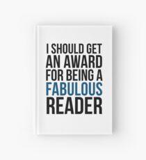 I SHOULD GET AN AWARD (BLUE) Hardcover Journal