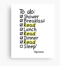 TO DO: READ Canvas Print