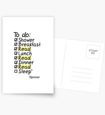 TO DO: READ Postcards