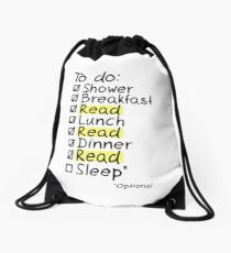 TO DO: READ Drawstring Bag