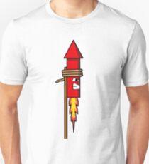 Firework Rocket Unisex T-Shirt