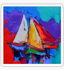 Sails Colors Sticker
