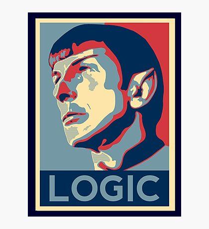 "Spock ""Logic"" Poster Photographic Print"