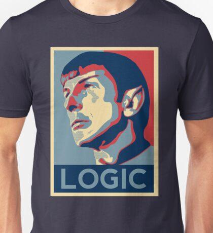 """Spock """"Logic"""" Poster Unisex T-Shirt"""