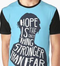 Hunger Games Quote Graphic T-Shirt