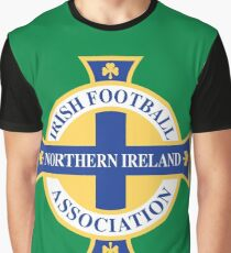 Northern Ireland Soccer Graphic T-Shirt