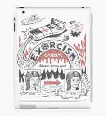 Exorcism Cream iPad Case/Skin