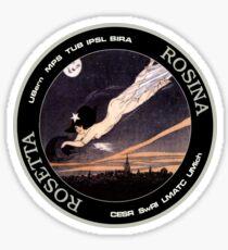 ROSINA (Rosetta Mission) Instrument Program Logo Sticker