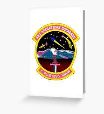 NRO Operations Squadron Greeting Card