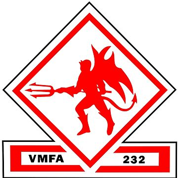 Marine Fighter Attack Squadron 232 Insignia  by abbeyz71