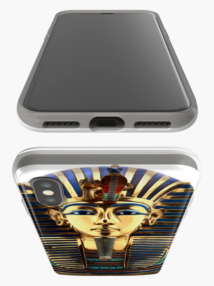 Alternate view of Tutankhamun iPhone Case & Cover