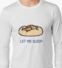 Camiseta de manga larga Neko Atsume- Pumpkin [Déjame dormir]