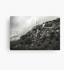 Ragged Rocks Canvas Print