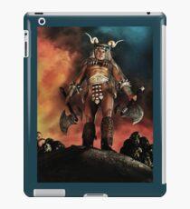 Warrior Version 1 iPad Case/Skin