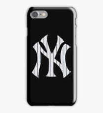 New York Yankees Pinstripes Logo iPhone Case/Skin