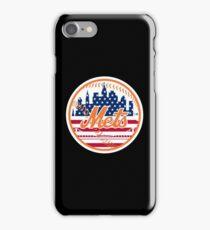 New York Mets Flag Logo iPhone Case/Skin