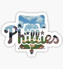 Philadelphia Phillies Stadium Logo Sticker