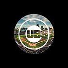 Chicago Cubs Stadium Logo by j423985
