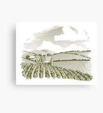 Rural Farm House Canvas Print