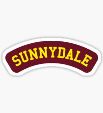 Sunnydale High School - Buffy Sticker