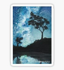 Skyscape - The stars and the Milky Way Sticker