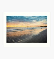 Sunrise at Port Fairy   (EH1rw) Art Print